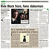 Elvis Black Stars : Force Doberman